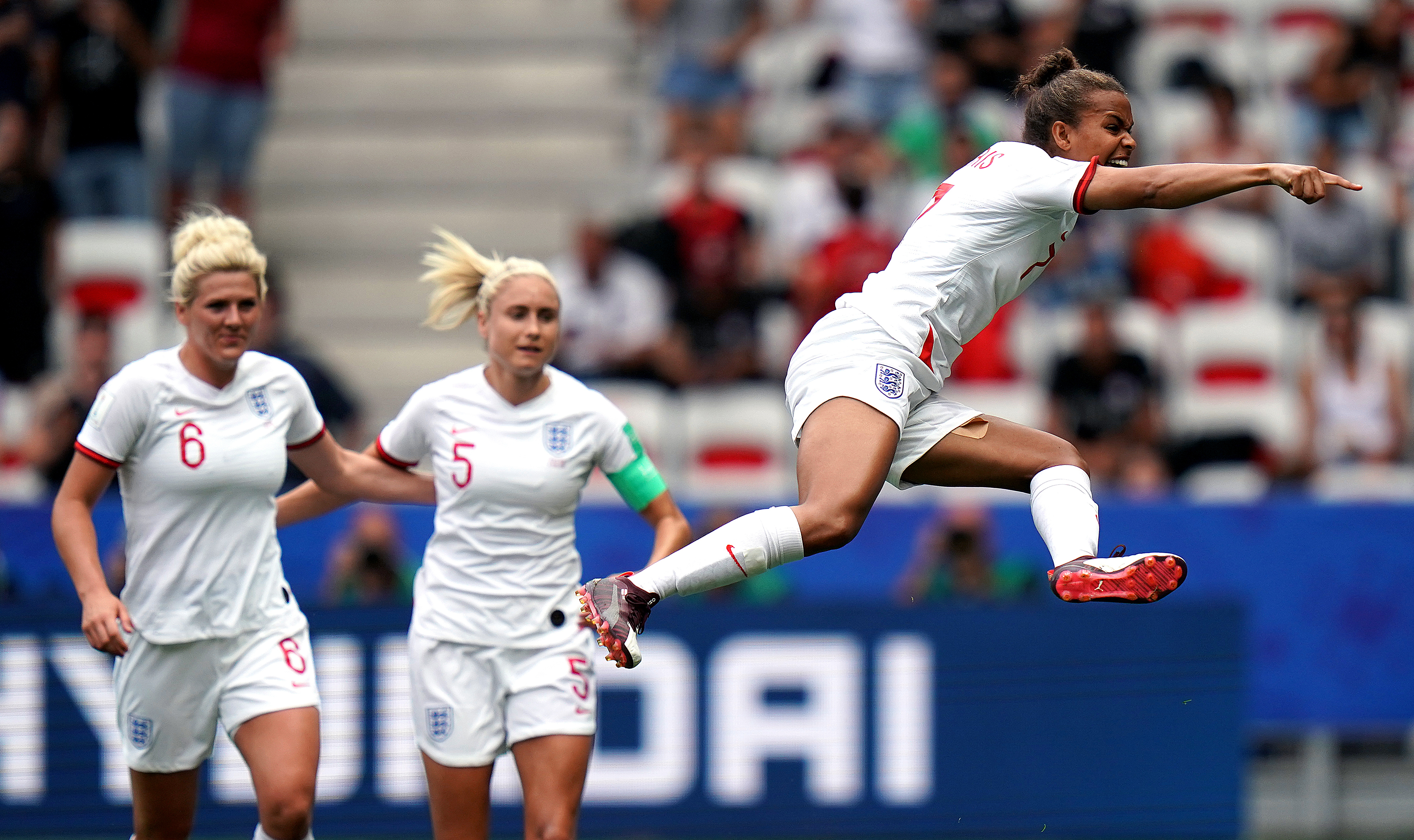 England won their opening game against Scotland