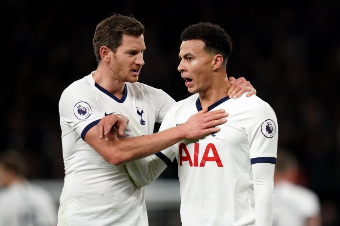 Jan Vertonghen (left) and Dele Alli have also been victims of crime