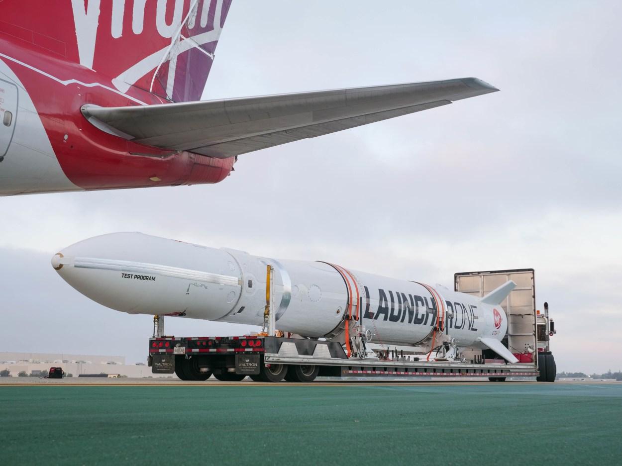 Virgin Orbit's LauncherOne