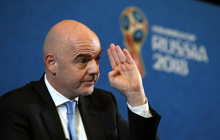 Gianni Infantino is paid less than predecessor Sepp Blatter