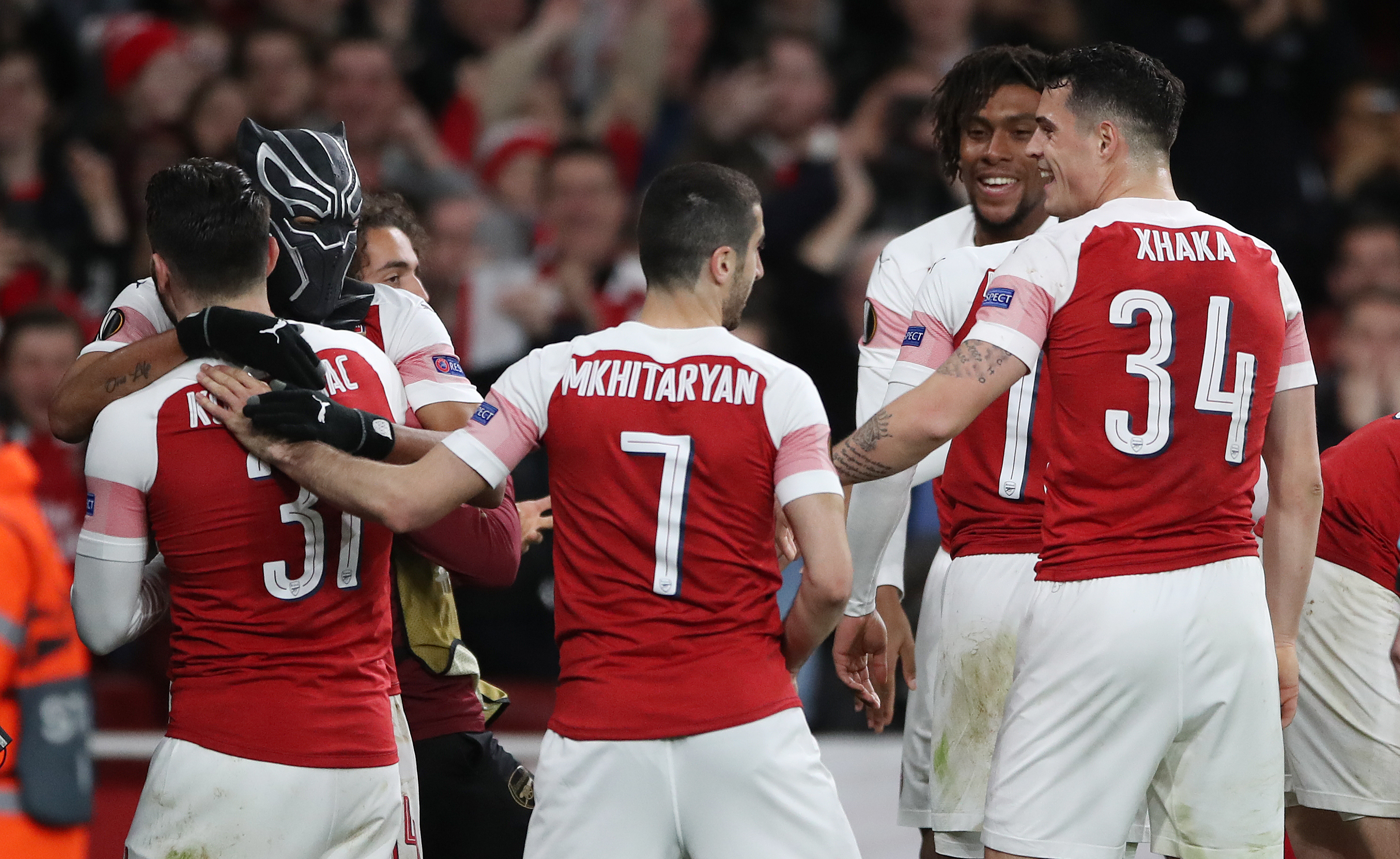 Arsenal turned the tie around against Rennes