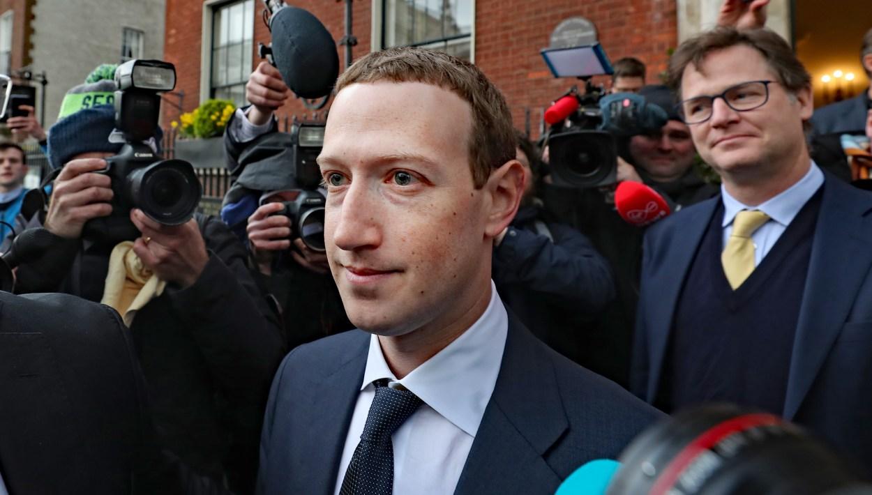 Facebook CEO Mark Zuckerberg in Dublin
