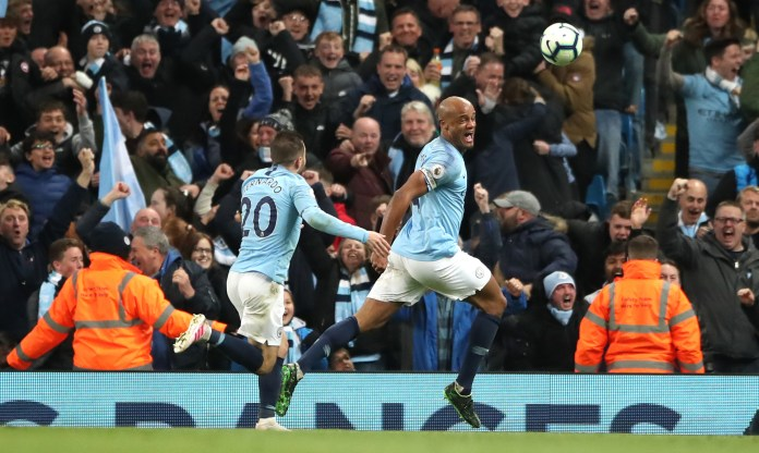 Kompany said his Leicester Wonder Gate told him it was time to leave