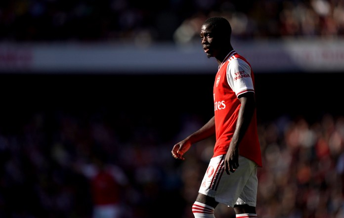 Nicolas Pepe hopes to compete at Watford for Arsenal