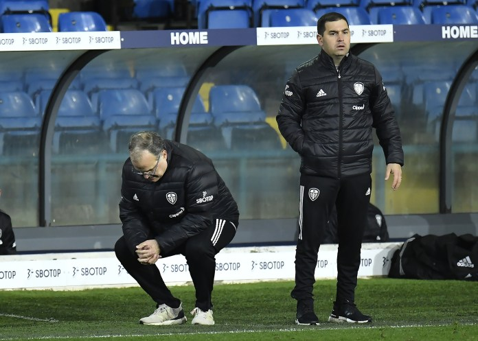 It was a night of frustration for Marcelo Bielsa