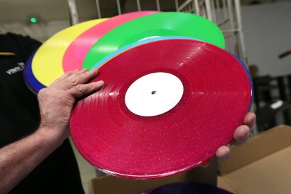Image result for making vinyl records