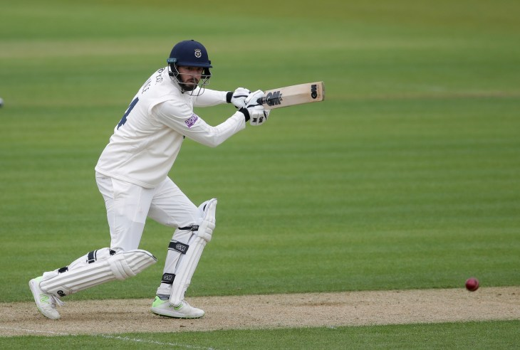 James Vince impressed for his 40
