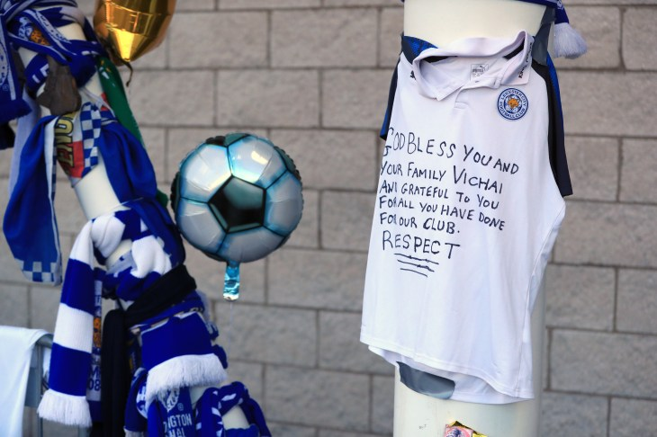 Thousands of tributes have been left at the stadium
