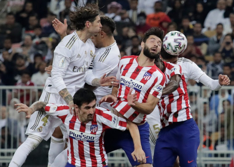 Real Madrid were taken to a penalty shootout by rivals Atletico in the Spanish Super Cup final