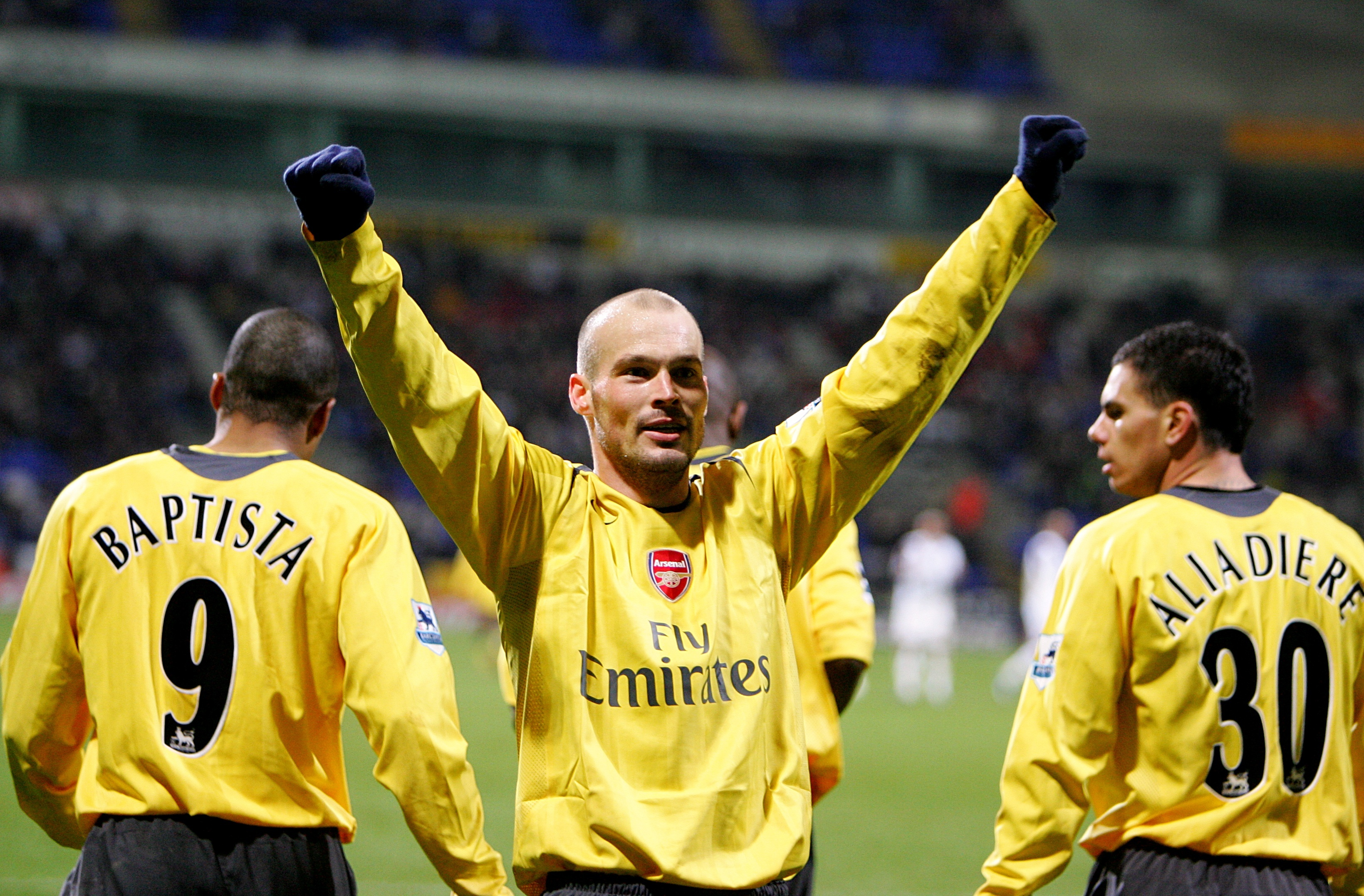 Former Gunners midfielder Freddie Ljungberg was promoted to Unai Emery's assistant over the summer