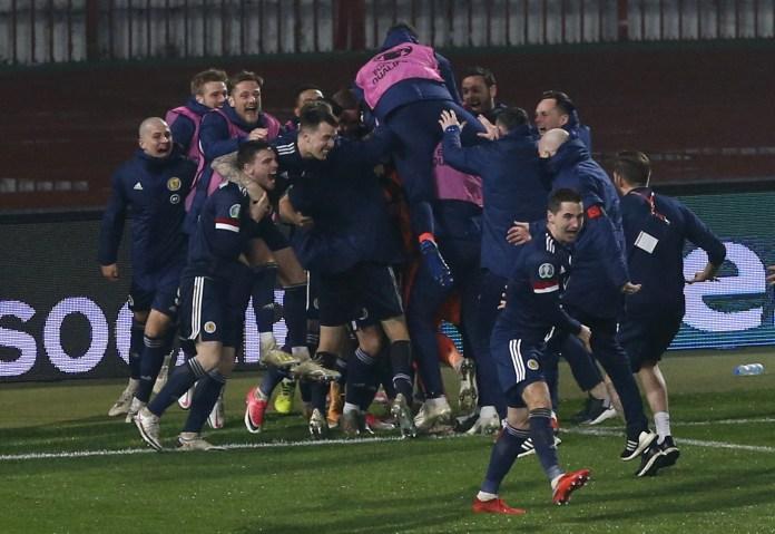 Serbia v Scotland – UEFA Euro 2020 – Play-offs – Final – Rajko Mitic Stadium
