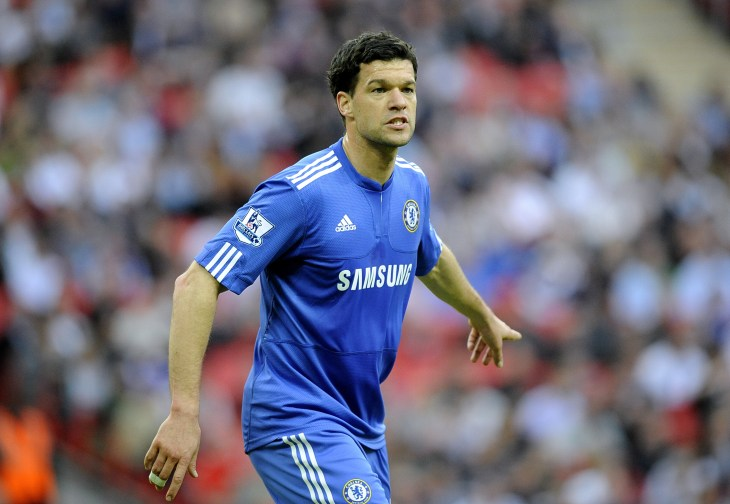 Michael Ballack bagged 17 times for Chelsea in four seasons at Stamford Bridge