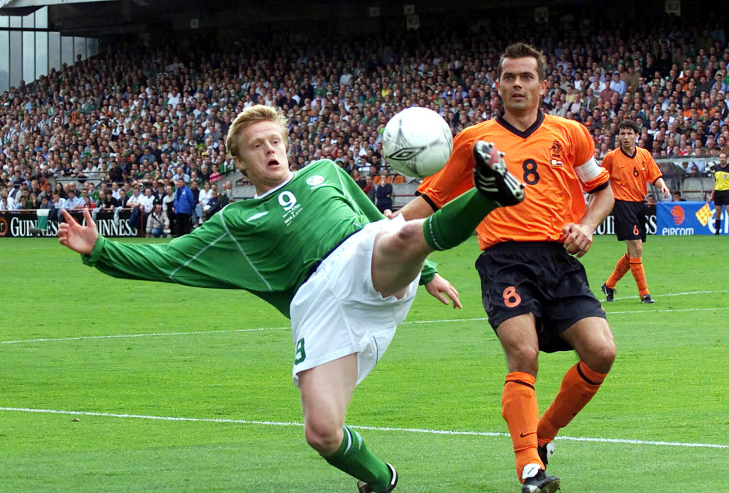 Cocu (right) won 101 caps for Holland, and reached the World Cup semi-finals