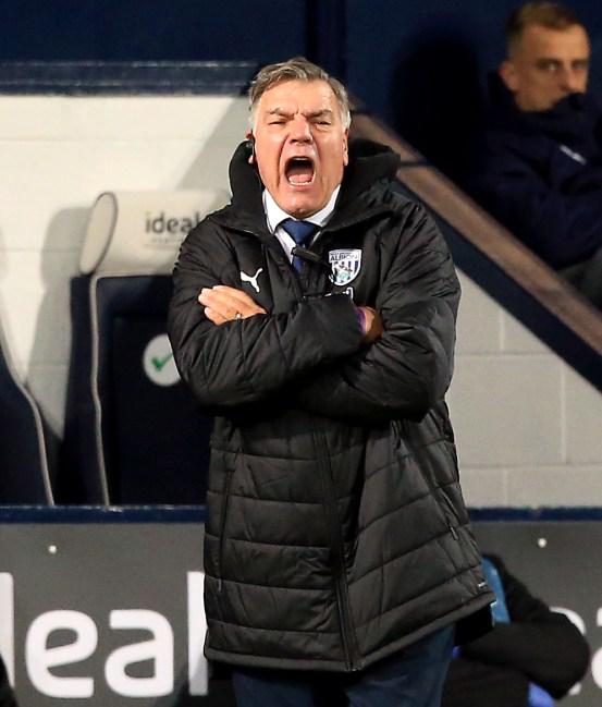 West Brom boss Sam Allardyce considers Arsenal a relegation rival