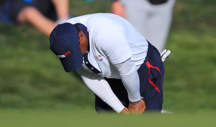 Tiger Woods could not prevent the USA from suffering defeat in the 2018 Ryder Cup in France