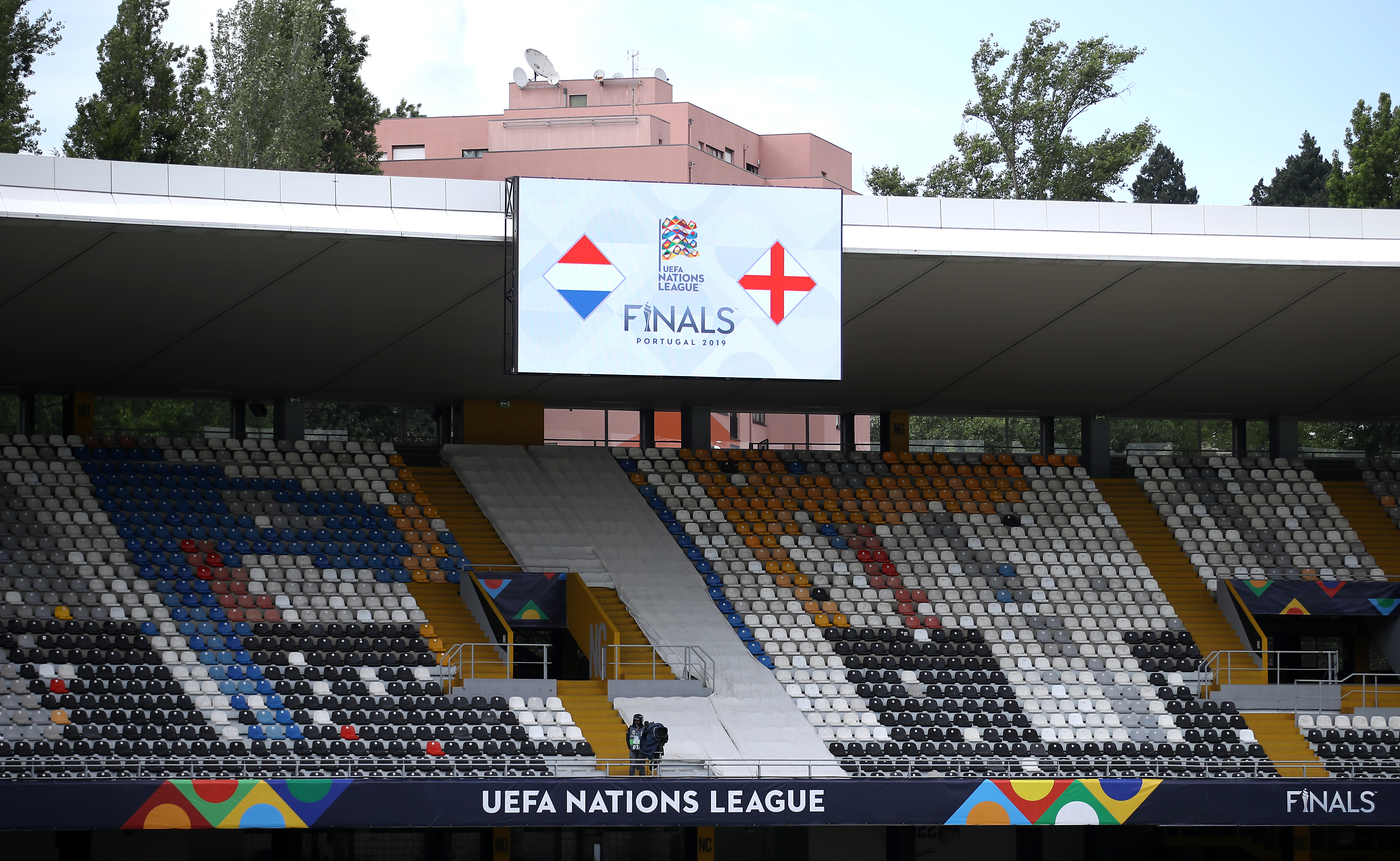 England will play Holland at the D. Afonso Henriques stadium in Guimaraes
