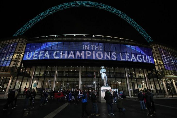 Tottenham Hotspur v Inter Milan – UEFA Champions League – Group B – Wembley Stadium