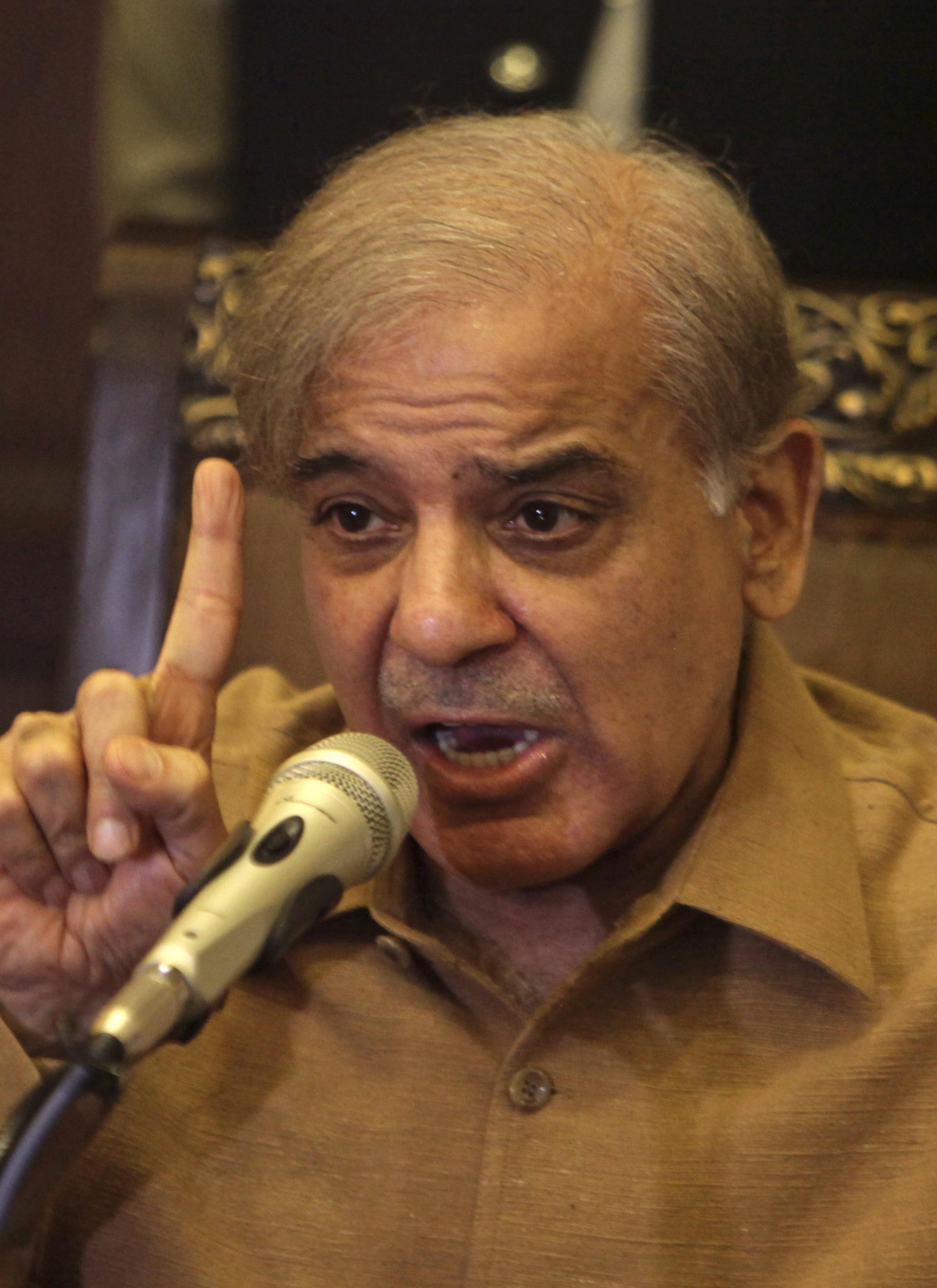 Shahbaz Sharif  Pakistan's former PM returns to face jail term 2