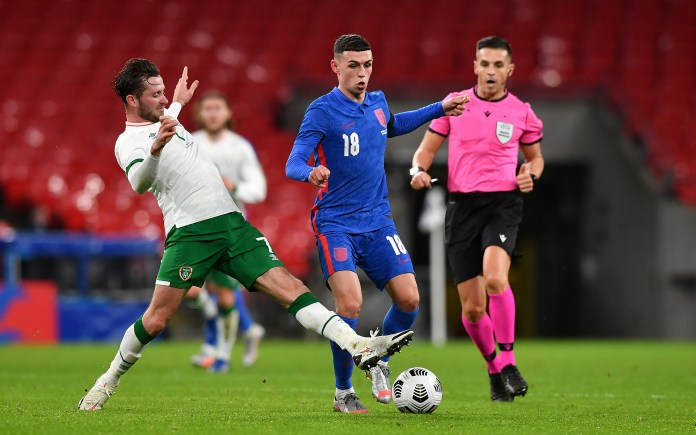 Phil Foden picked up his second England cap in last week's friendly with the Republic of Ireland.