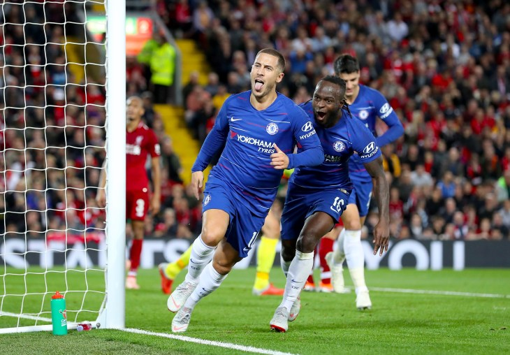 Liverpool are well aware of the threat posed by Chelsea playmaker Eden Hazard