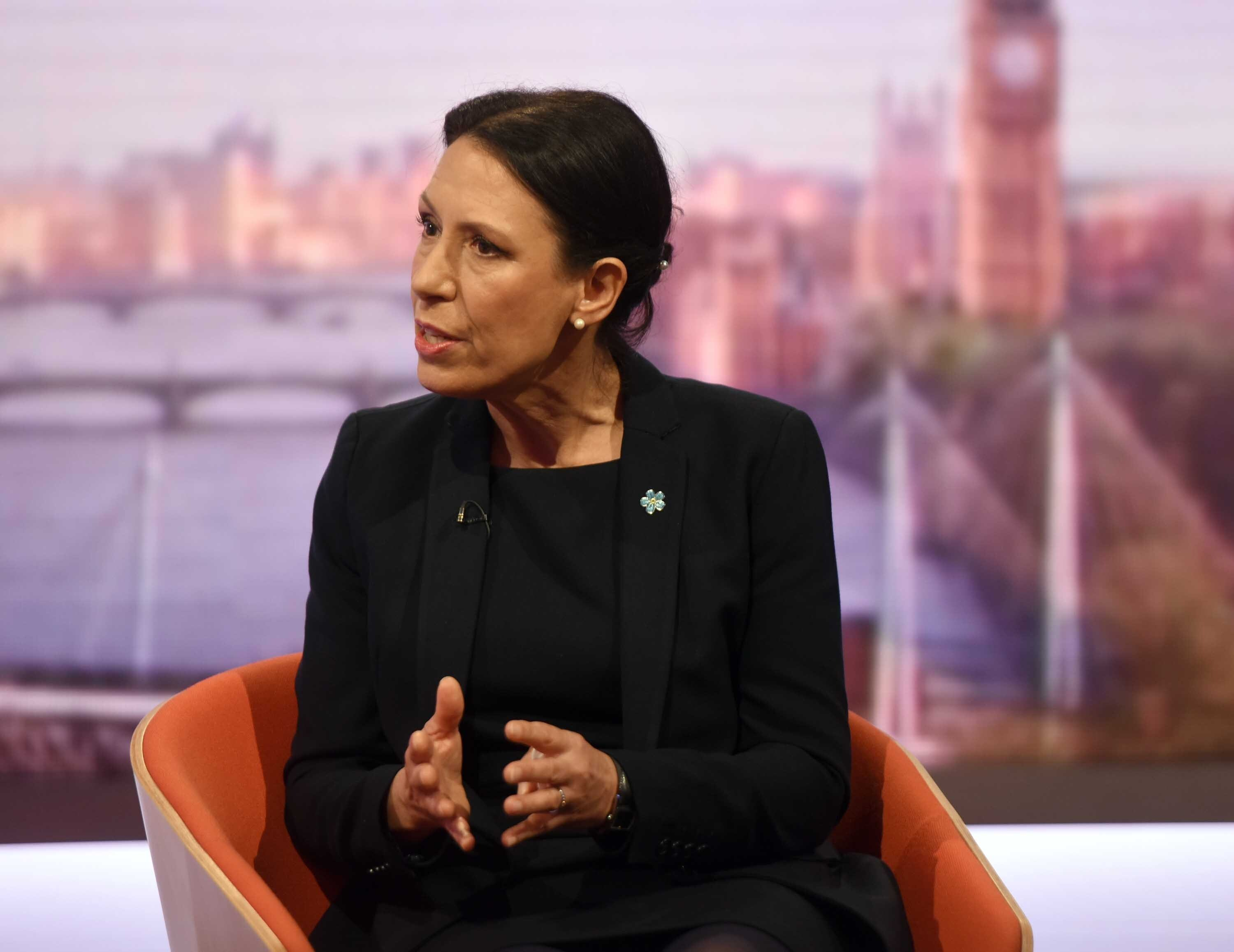 Shadow work and pensions secretary Debbie Abrahams
