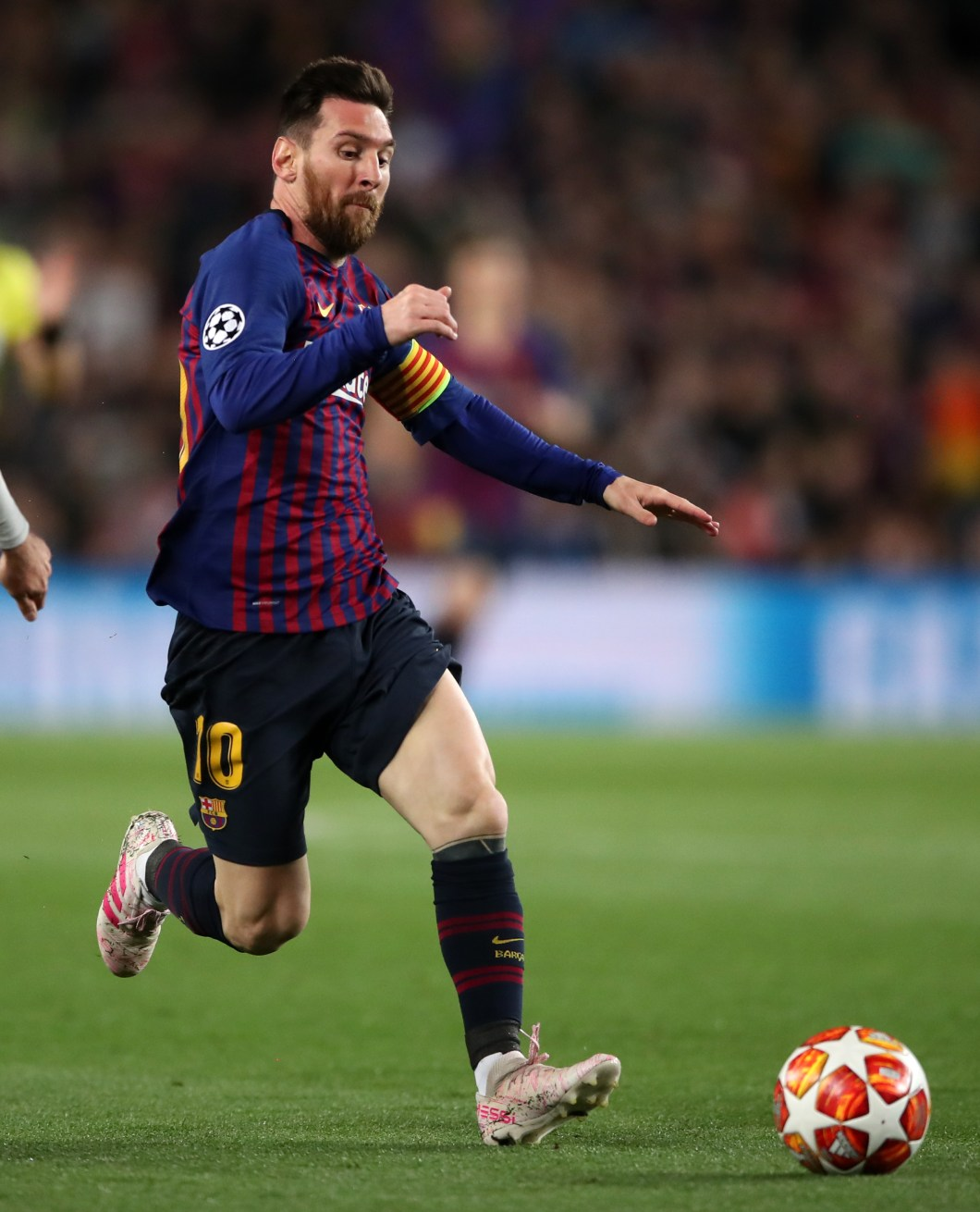 Cristiano Ronaldo rates Barcelona's Lionel Messi as the best player he has come up against