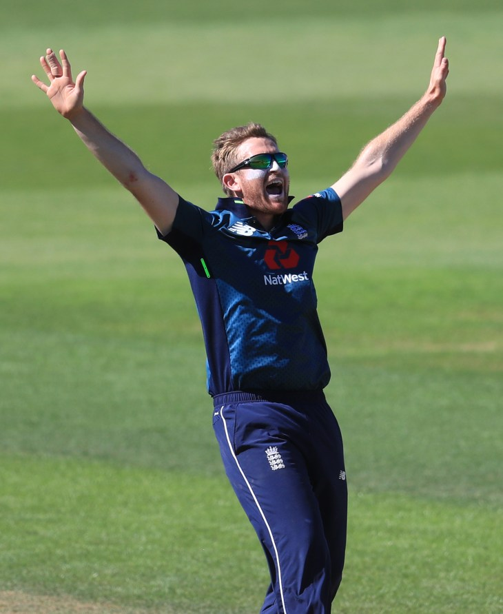 Spinner Liam Dawson is one of those vying for selection with Curran.