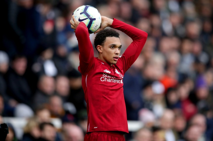 Trent Alexander-Arnold made his Liverpool debut in late 2016 (Adam Davy/PA).