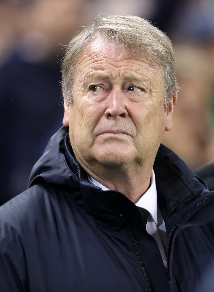 Denmark manager Aage Hareide expects a tight match between the Republic and Wales (Niall Carson/PA).