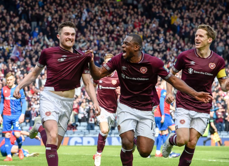 Hearts will face the Hoops in the final after overcoming Inverness