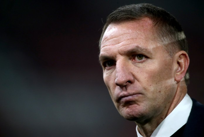 Leicester City manager Brendan Rodgers is said to be on Tottenham's shortlist