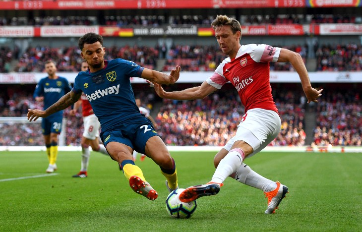 Nacho Monreal is an injury worry for Arsenal for the trip to Palace.