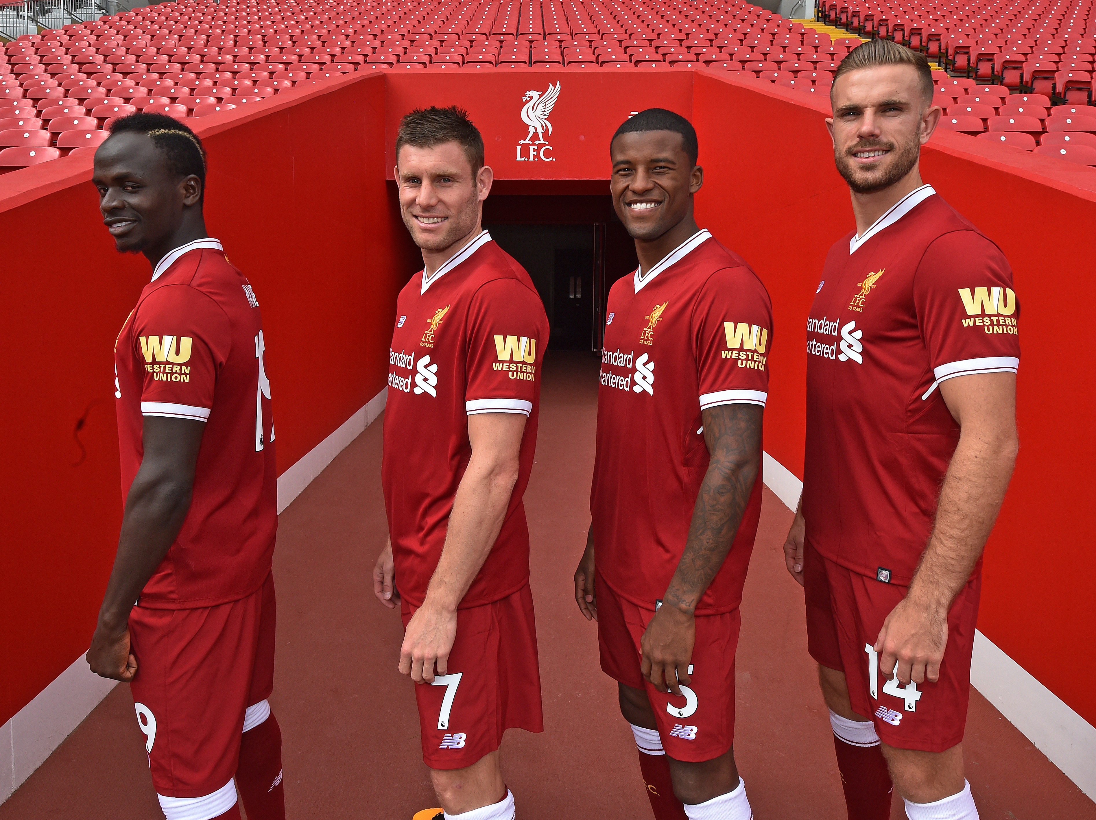 Wijnaldum is in competition with James Milner, captain Jordan Henderson and Fabinho for one of three midfield places in the final