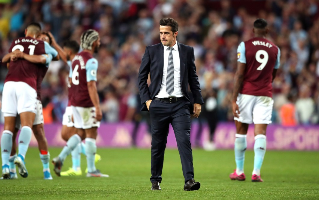 Marco Silva felt his side did not get what they deserved