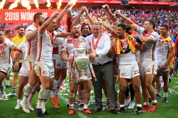 The Catalans Dragons team