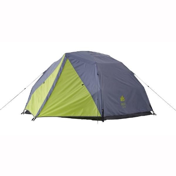 палатка зелёного синего цвета