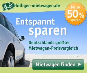 Mietwagen über billiger-mietwagen.de buchen
