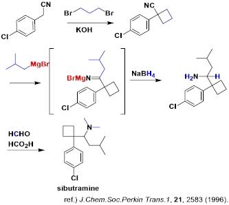 シブトラミンの合成