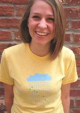 Headlights - Rain Cloud T-Shirt Yellow