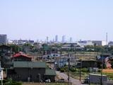 名古屋駅前のビル群2007.5.20