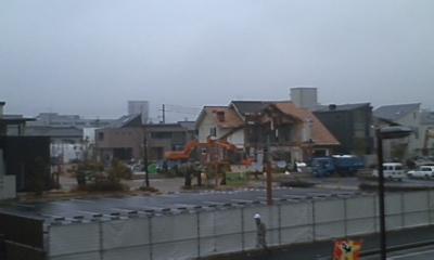 ハウジングセンター解体