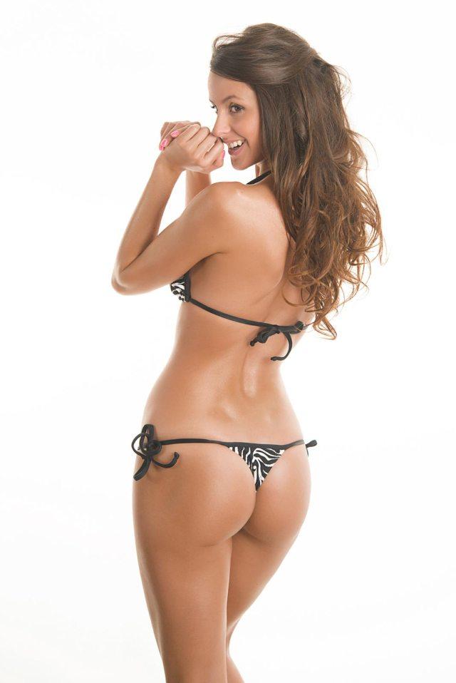 Thong Bikini Riodesol Zebra Micro