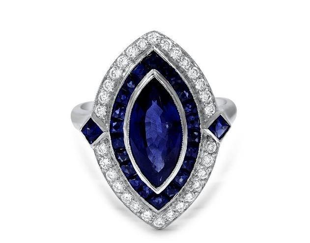 Antique Sapphire Rings Brilliant Earth