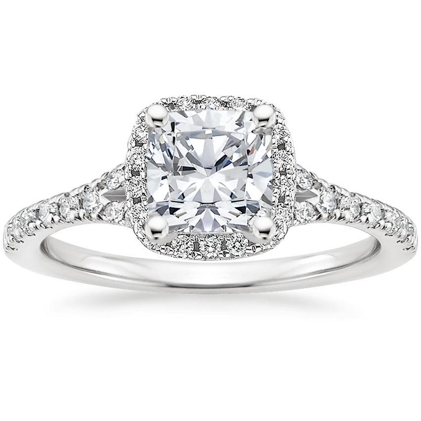 Princess Cut Vs Cushion Cut Diamonds Brilliant Earth