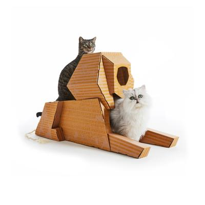 Landmarks Cat Play House System Sphinx Scratch Toy By Poopy Cat 59 99