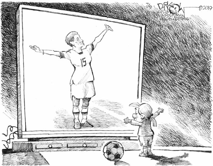 Editorial Cartoon: Women's World Cup