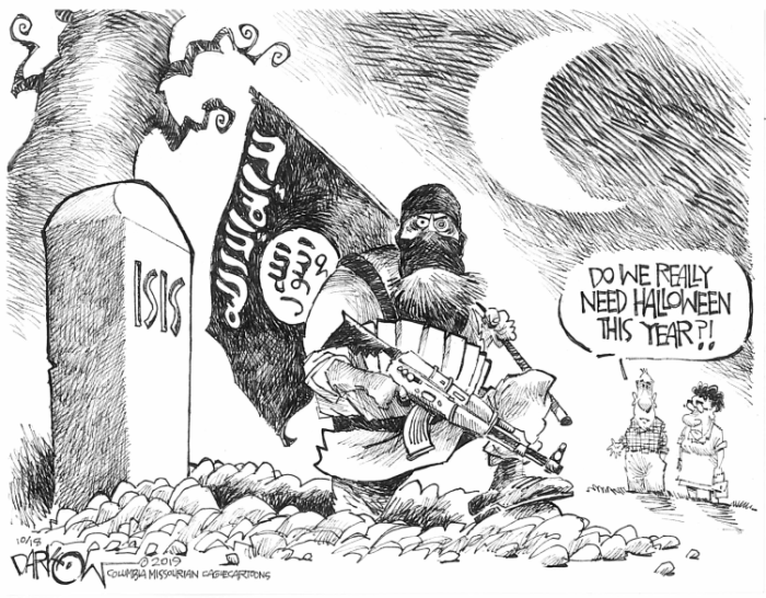 Editorial Cartoon: Isis returns