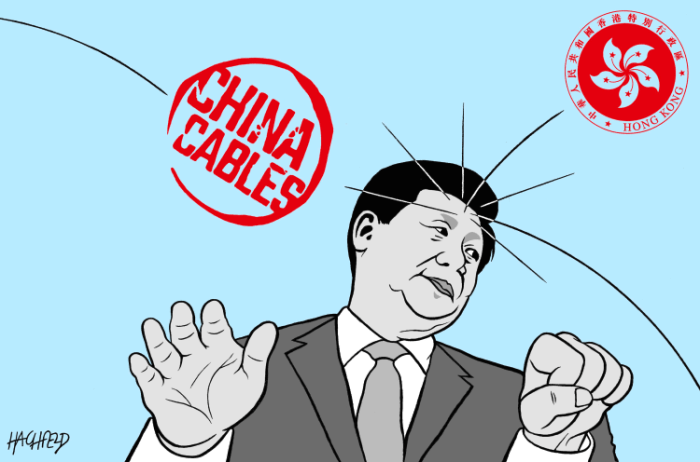 Editorial Cartoon: Xi Jinping's problems