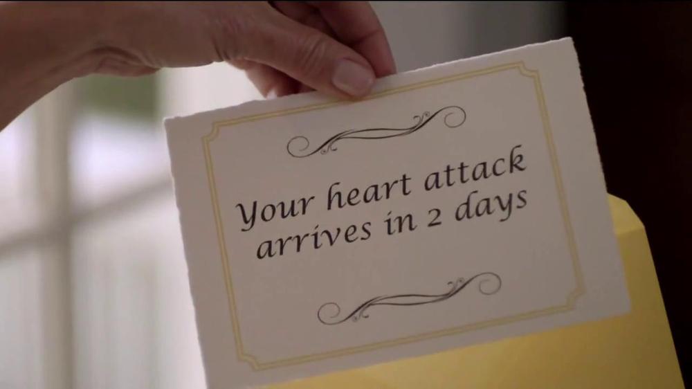 Bayer TV Spot, 'Laura's Heart Attack Note' - Screenshot 2