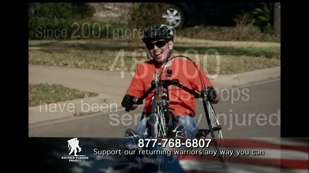 Wounded Warrior Project TV Commercial Alan Featuring Trace Adkins ISpottv
